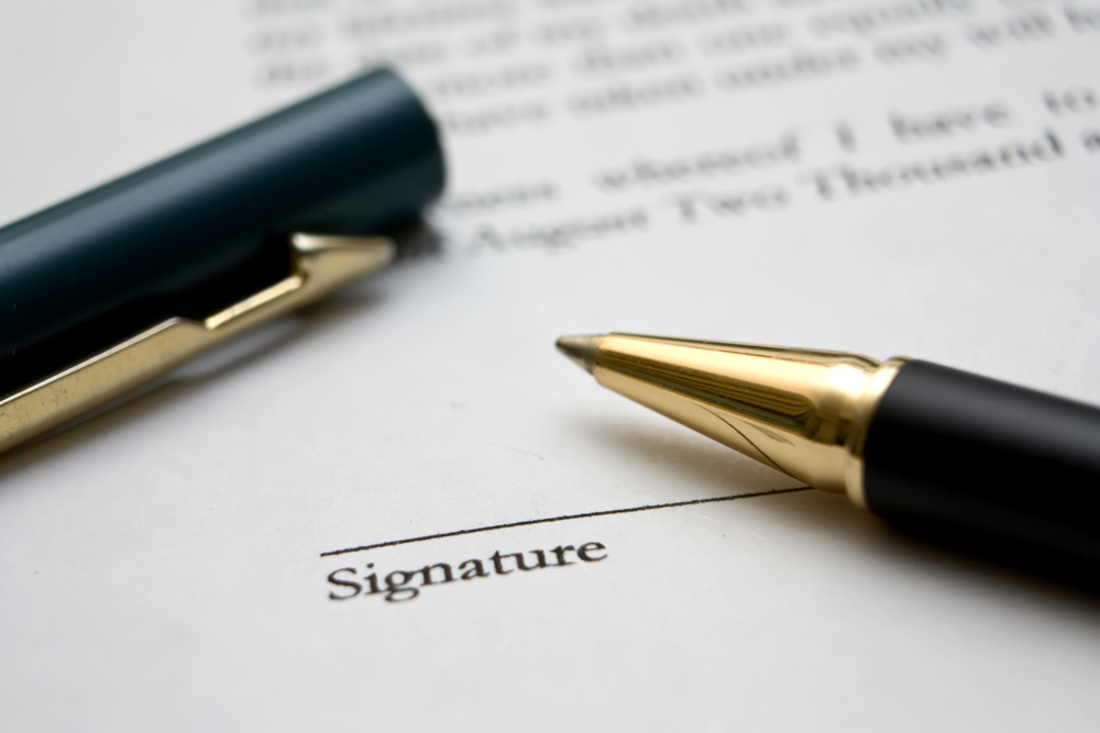 Signature-Négociations 2017-2021