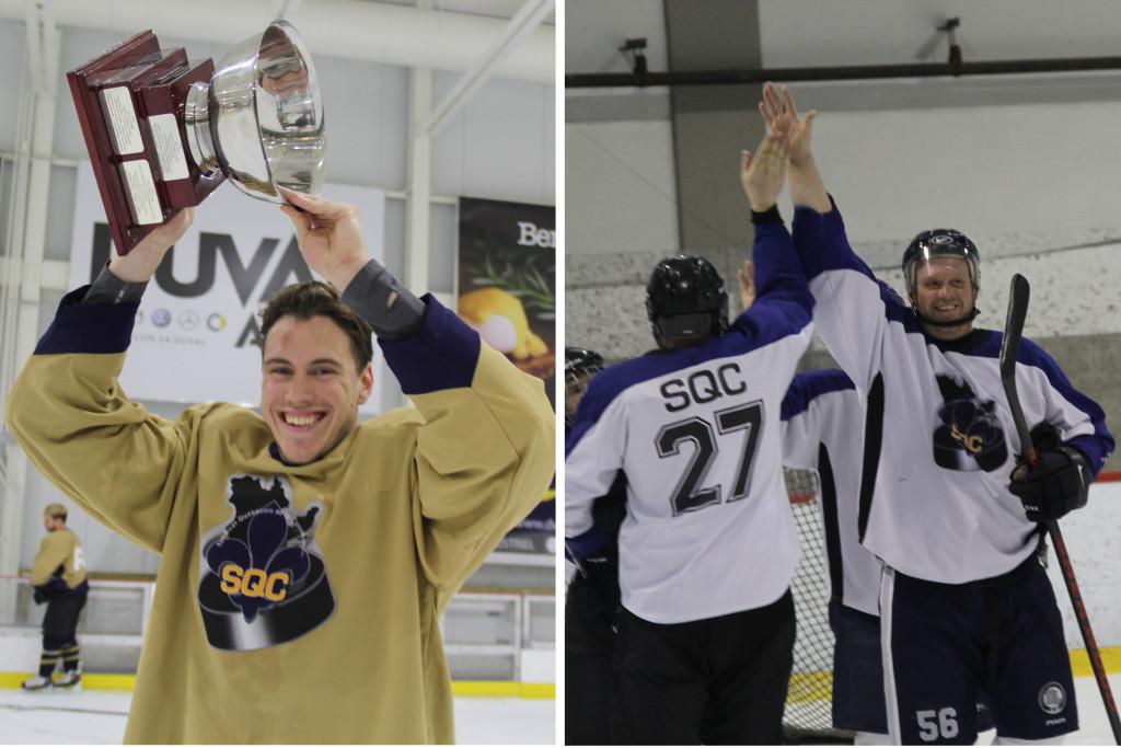 Tournoi de hockey SQC - Syndicat québécois de la construction